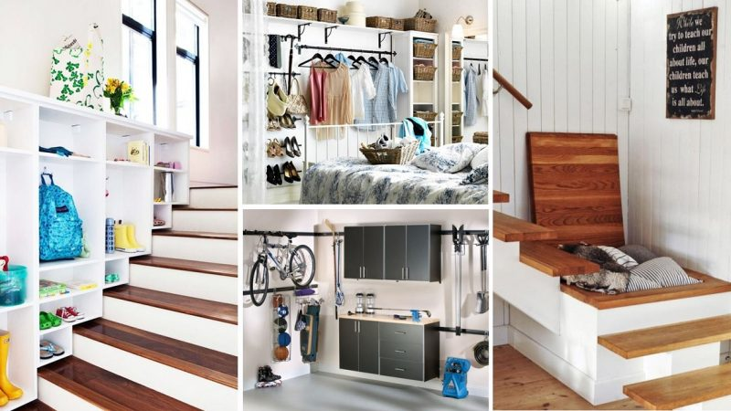 Organized living with right storage support