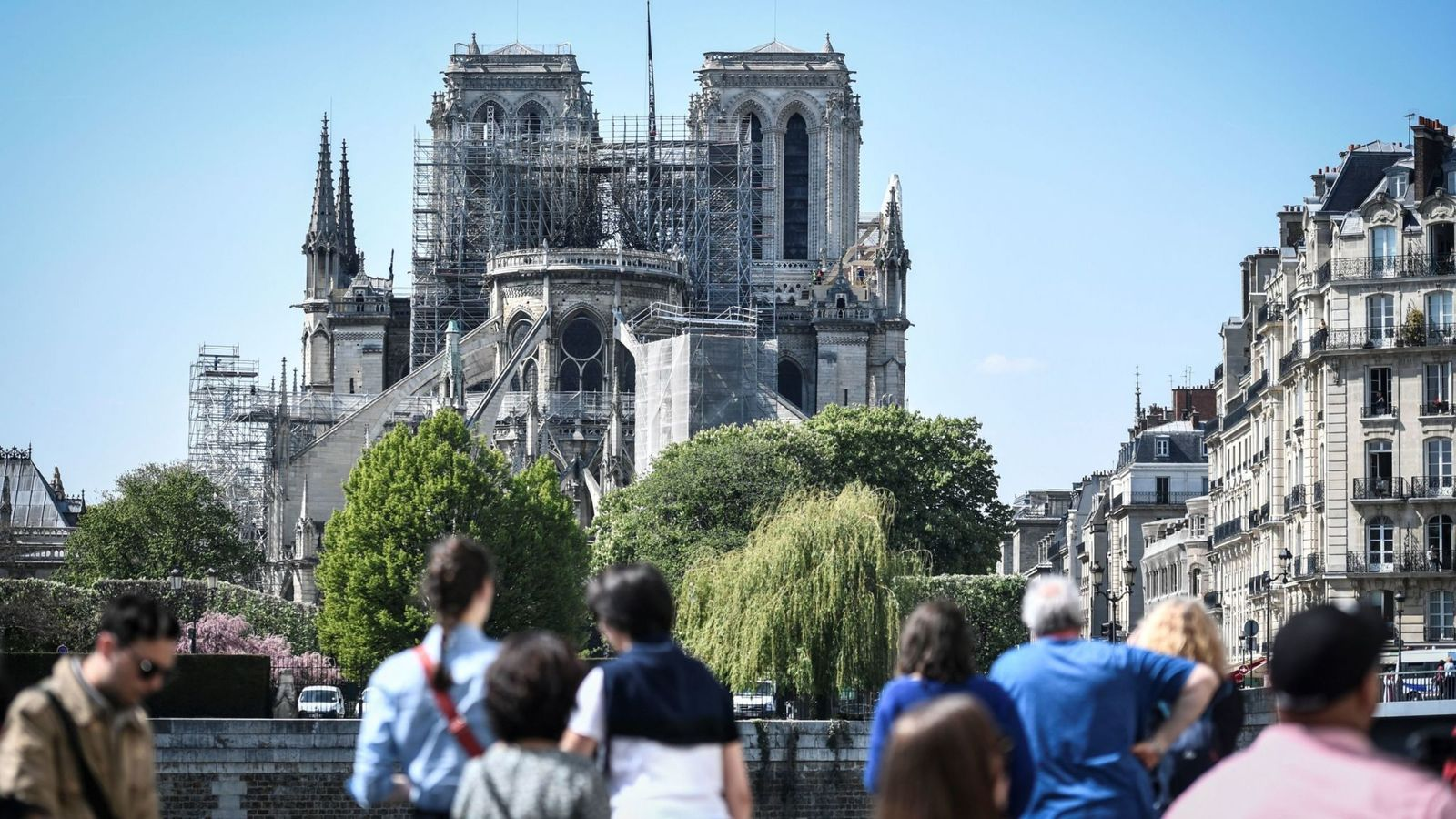 The Reconstruction of Notre Dame