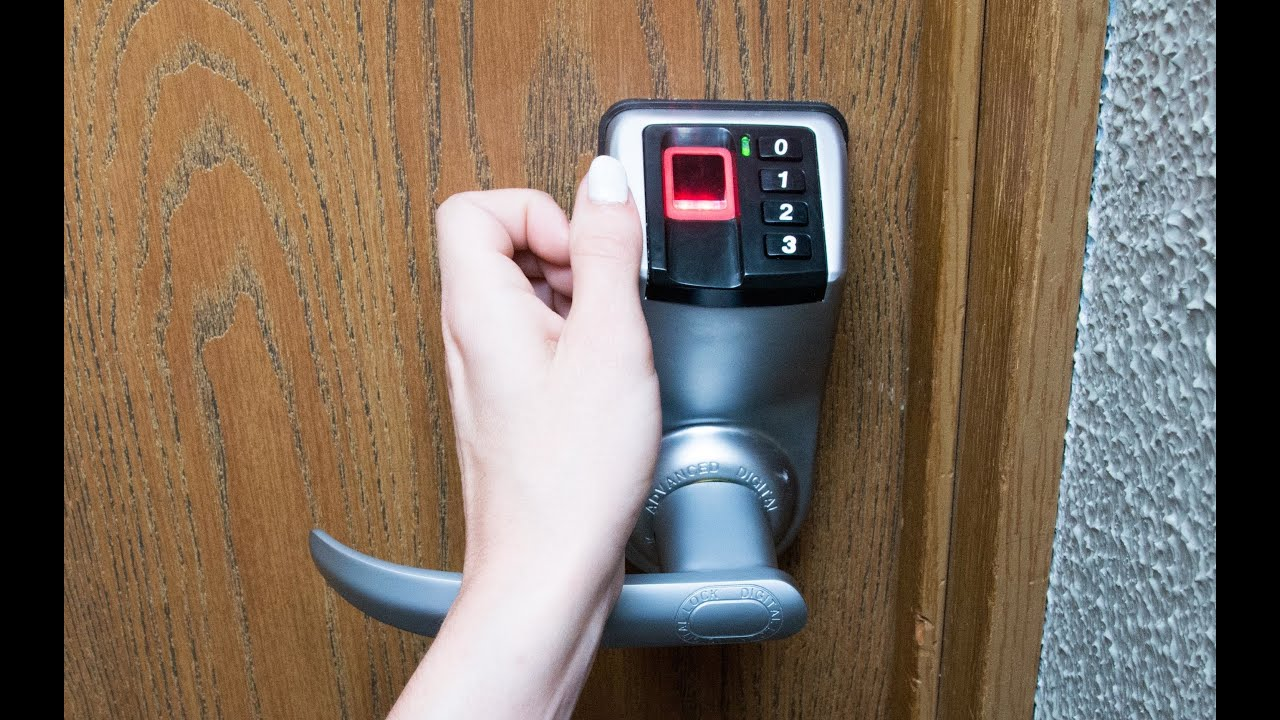 Why do you Need a Biometric Door Lock