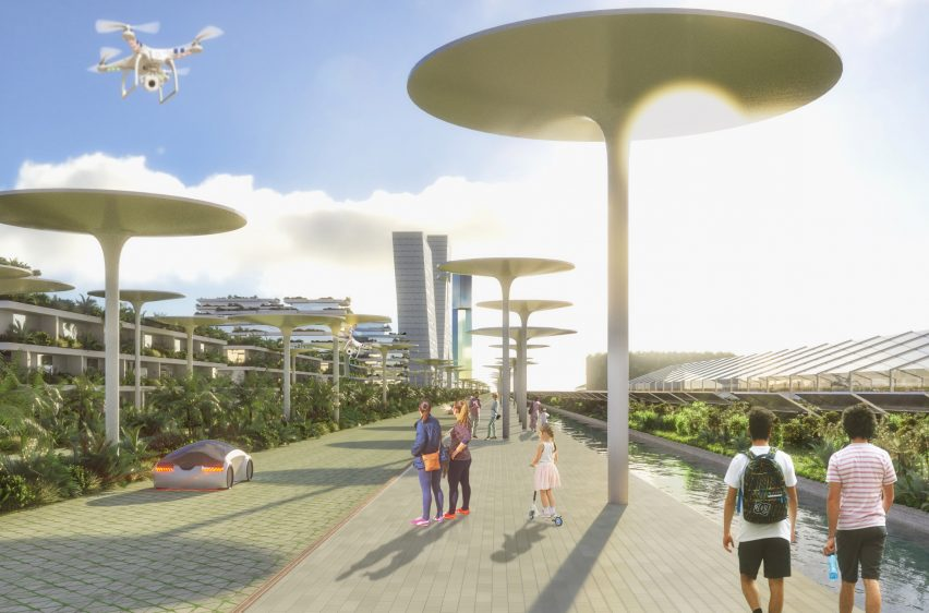 The Smart Forest City of the Future